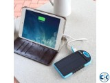 Solar Electric Duel Power Bank Water Proof Dust Proof