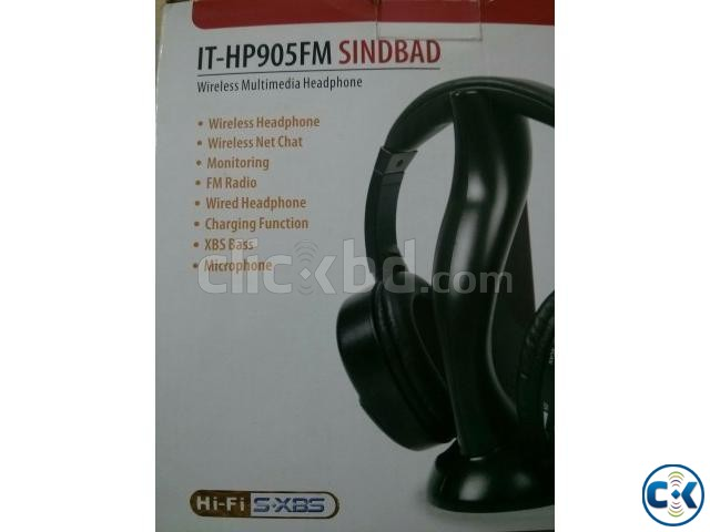 Wireless Headphone | ClickBD large image 1