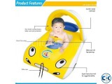 Children Inflatable Swim Car With Sun Shade
