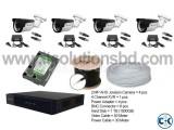 Jovision 2MP 4 pcs CCTV Camera Setup