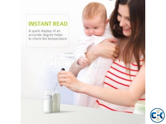 Digital Instant Read Food Thermometer for BBQ Cooking Milk | ClickBD large image 0