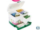 Medicine Box first Aid Kit storage Boxes Organizer