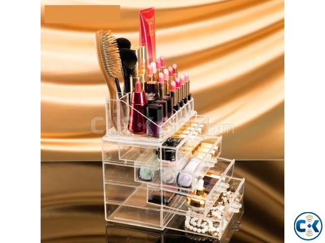 Cosmatic Makeup Organizer Drawer Storage Box | ClickBD large image 4