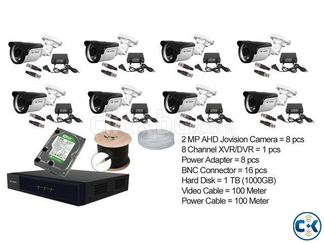 Jovision 2MP 8 pcs CCTV Camera Setup | ClickBD large image 0