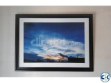 Large Sky Landscape Picture Framed 37 x27