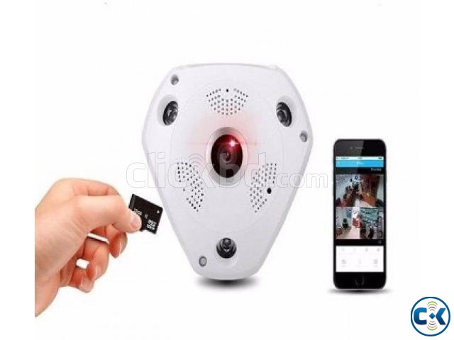 VR 360 Wireless Panoramic IP CC Camera | ClickBD large image 0