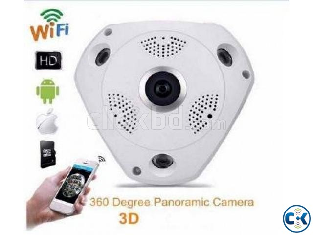 VR 360 Wireless Panoramic IP CC Camera | ClickBD large image 2