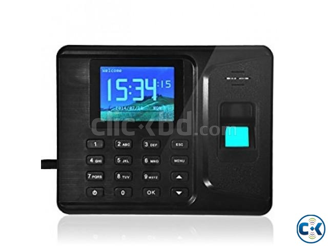 Fingerprint time attendance and access control | ClickBD large image 1