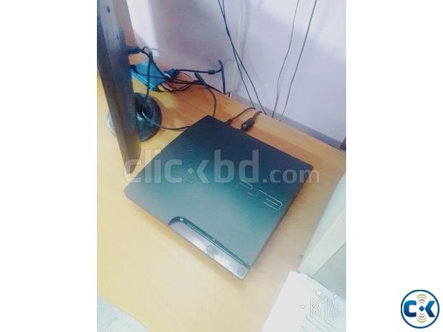 Sony PlayStation 3 Slim 320 G Black | ClickBD large image 0
