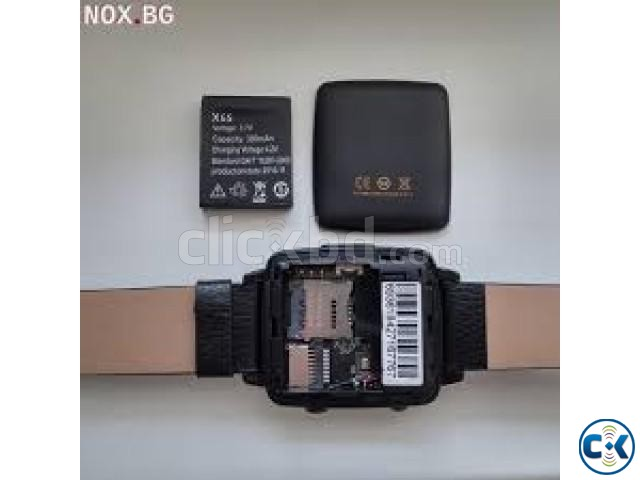Smart Watch X6s Sim support | ClickBD large image 1