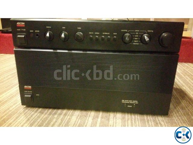 Adcom GFA 555 Power with GFP 555 Pre Amp | ClickBD large image 0
