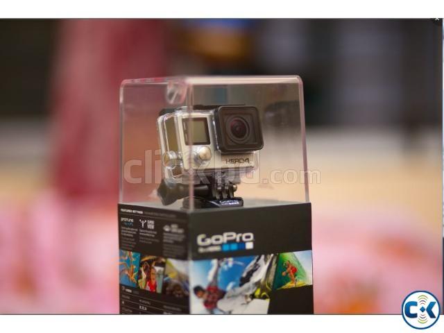 GoPro HERO 4 Black - 4K waterproof Camera 3-Way grip | ClickBD large image 0