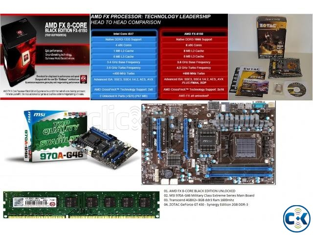 Ultimate Gaming Computer Setup in Home | ClickBD large image 0