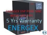 ENERGEX DSP PURE SINE WAVE UPS IPS 2000VA WITH BATTERY.