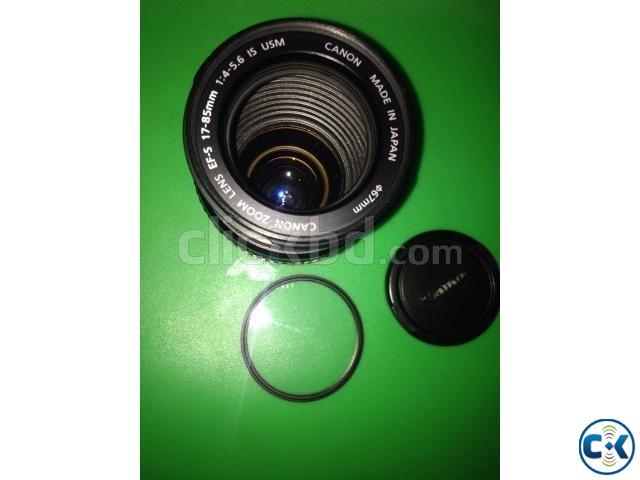 Canon EF-S 17-85mm f 4.0-5.6 IS USM Lens | ClickBD large image 0