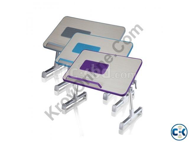 Ergonomic Multifunction Laptop Desk With Laptop Cooler | ClickBD large image 0