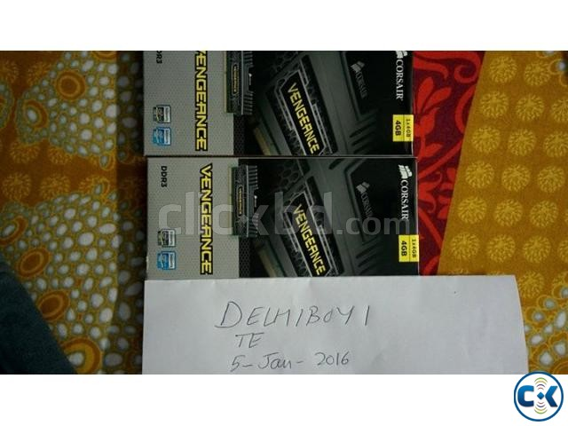 Brand NEW Intact Corsair Vengeance 4GB DDR3 1600MHz RAM | ClickBD large image 0