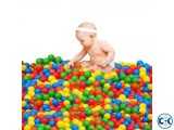 50pcs Colorful Ball Ocean Balls Soft Plastic