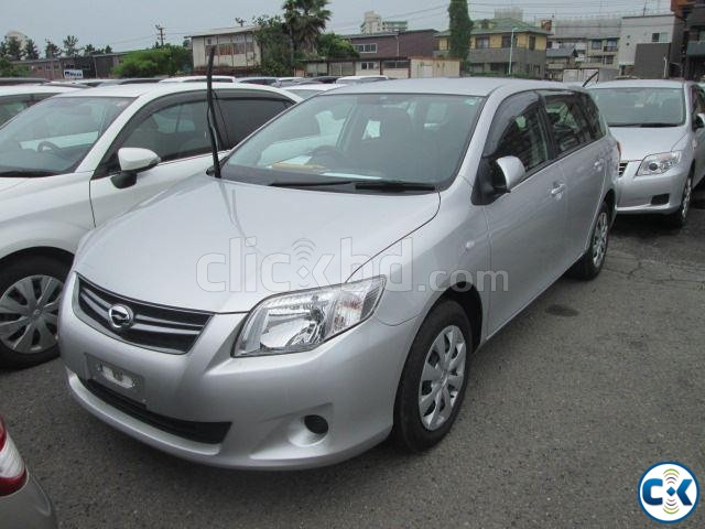TOYOTA AXIO X FIELDER SILVER | ClickBD large image 0