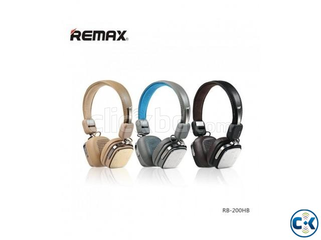 REMAX Bluetooth Headphone with Microphone | ClickBD large image 2