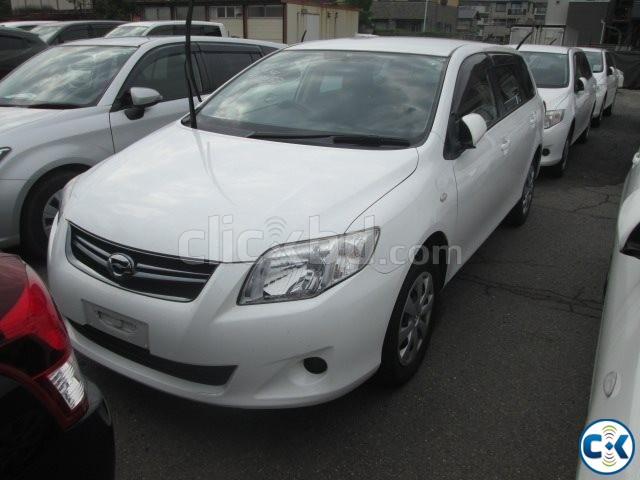TOYOTA AXIO X FIELDER WHITE | ClickBD large image 0