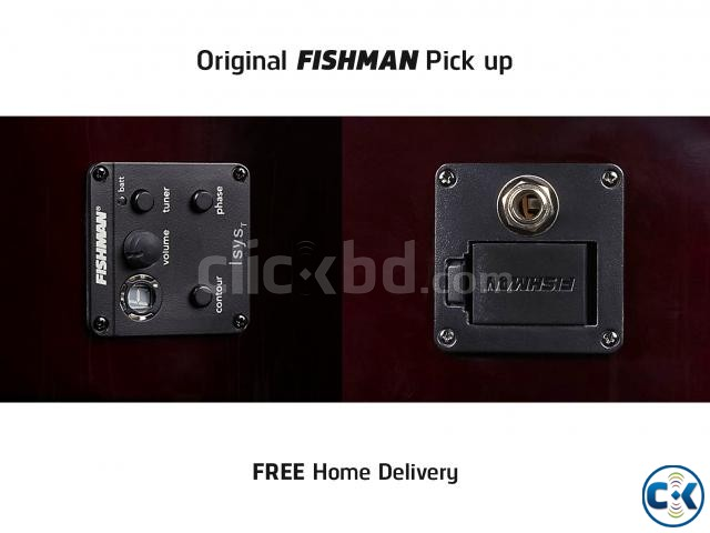 Guitar with Fishman Pick up | ClickBD large image 0