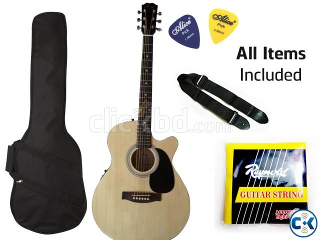 Guitar with Fishman Pick up | ClickBD large image 1