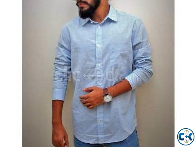 Menz Full Sleeve Casual Shirt | ClickBD large image 0