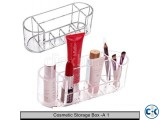 8 Compartments Transparent Cosmetic Storage Box