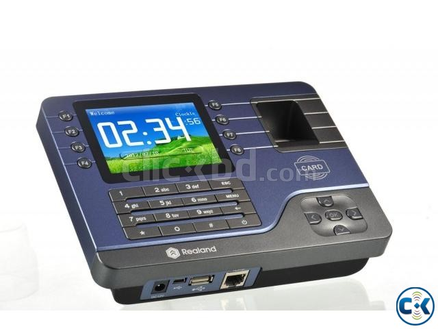Fingerprint Time Attendance ID IC TCP IP USB 3000Users | ClickBD large image 0