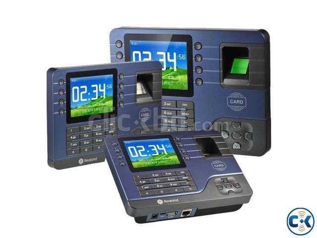 Fingerprint Time Clock Attendance System Recorder JM-AC091  | ClickBD large image 0