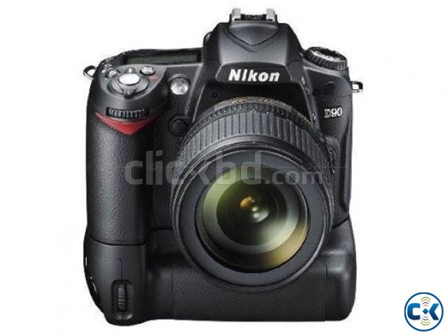 Nikon D90 Battery Grip Lens 2 Batteries | ClickBD large image 0