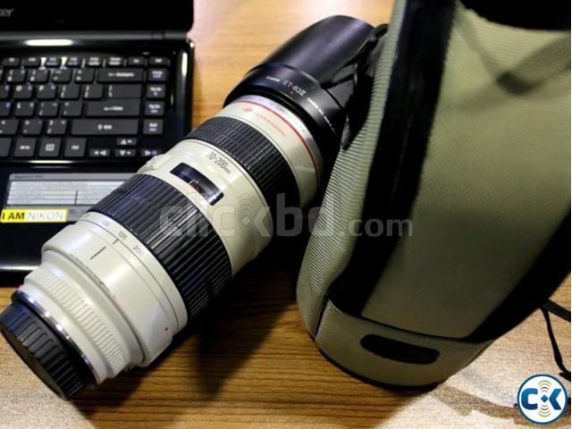 Canon EF 70-200mm f 2.8L USM Tele Zoom Lens | ClickBD large image 0