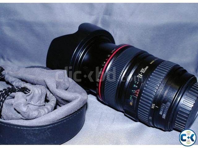 Canon EF 24-105mm f 4L IS USM Stander Zoom Lens | ClickBD large image 0