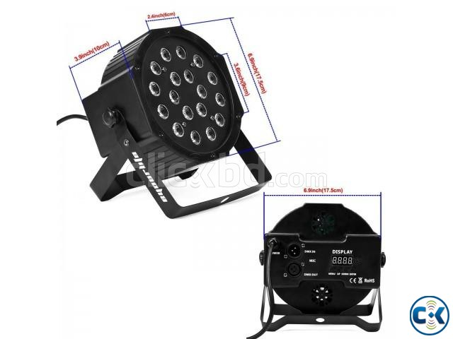 Par can stage lights Professional Stage Dj Light | ClickBD large image 3