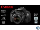 Canon EOS 600D 18-55 mm Lens Telephoto Zoom DSLR Camera