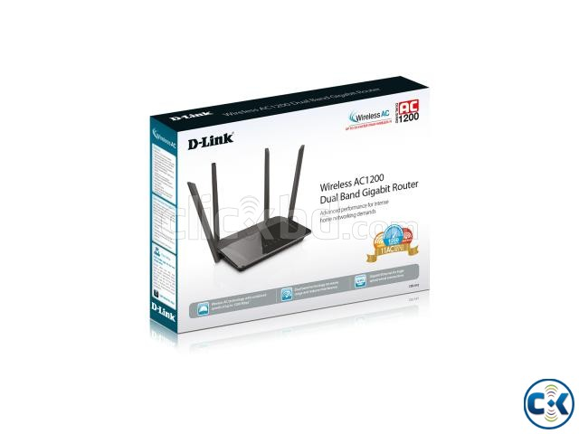 Wireless AC1200 Dual Band Gigabit Router | ClickBD large image 2