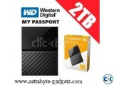WD My Passport 2TB Trusted and loved portable storage