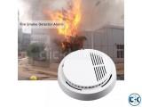 Smoke Detector Home Security Fire Alarm Sensor System