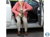Second Hand My Get Up and Go Cane Folding walking stick