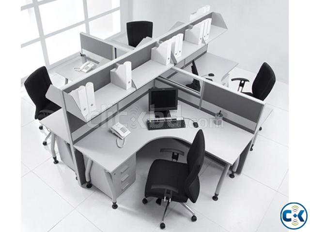 Work Station Fabric Partition 01 | ClickBD large image 1