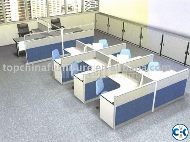 Work Station Fabric Partition 01 | ClickBD large image 2