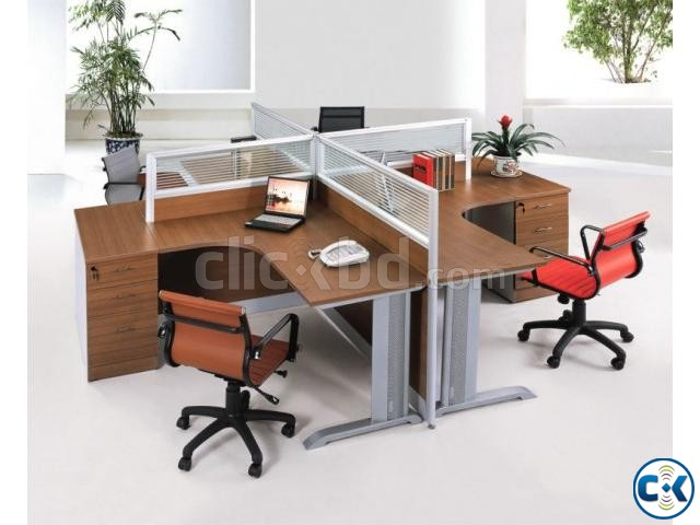 Work Station Fabric Partition 01 | ClickBD large image 4