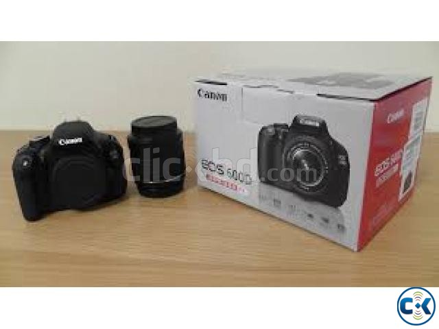 Canon EOS 600D Digital SLR Camera With Lens 18-55 | ClickBD large image 0