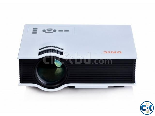 UNIC UC40 800LM LED Multimedia Projector | ClickBD large image 0