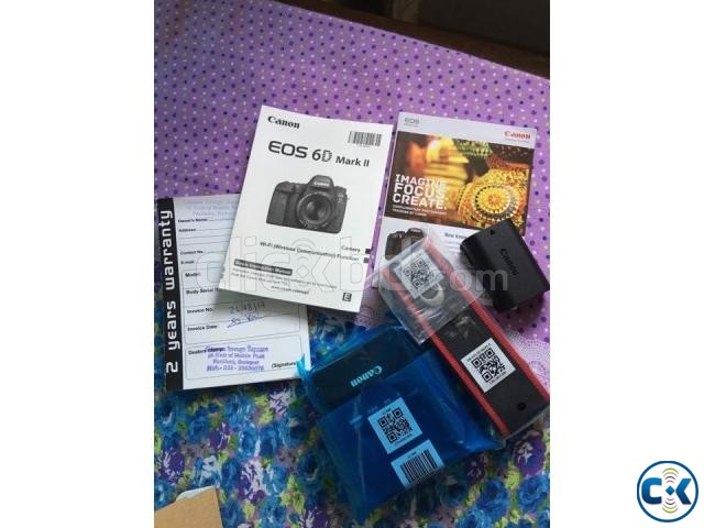 Canon EOS 6D Mark II DSLR Camera Body Only  | ClickBD large image 1