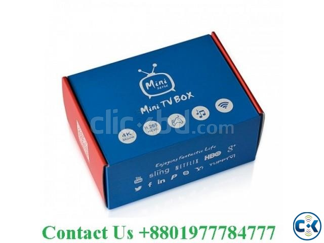 Android tv box Convert any TV to And TV Android 6. Ram-2GB | ClickBD large image 0