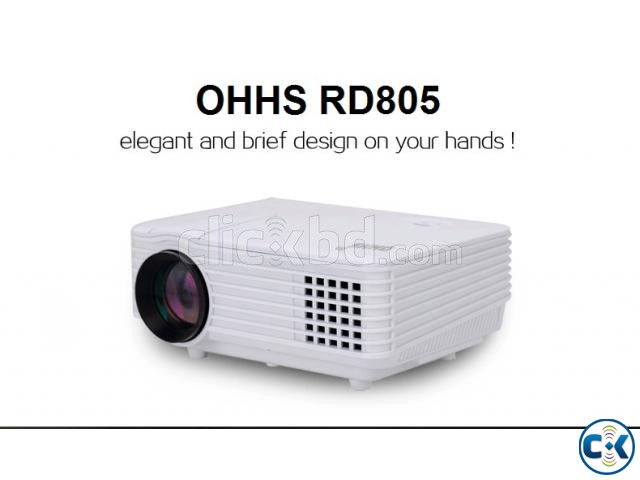 RD-805 Multimedia Projector TV Ready  | ClickBD large image 1