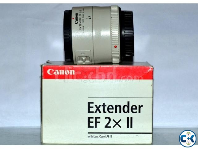 Canon EF 2X II Extender | ClickBD large image 0