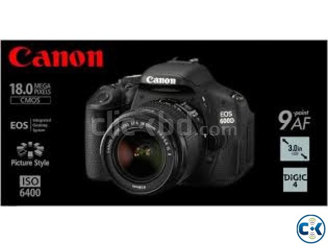 Canon EOS 600D 18MP CMOS 3 LCD Digital SLR Camera | ClickBD large image 1